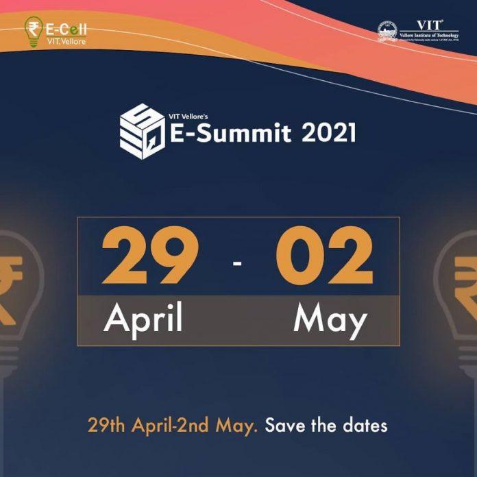 E-summit 2021, VIT Vellore