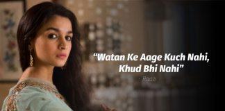 Bollywood dialogues